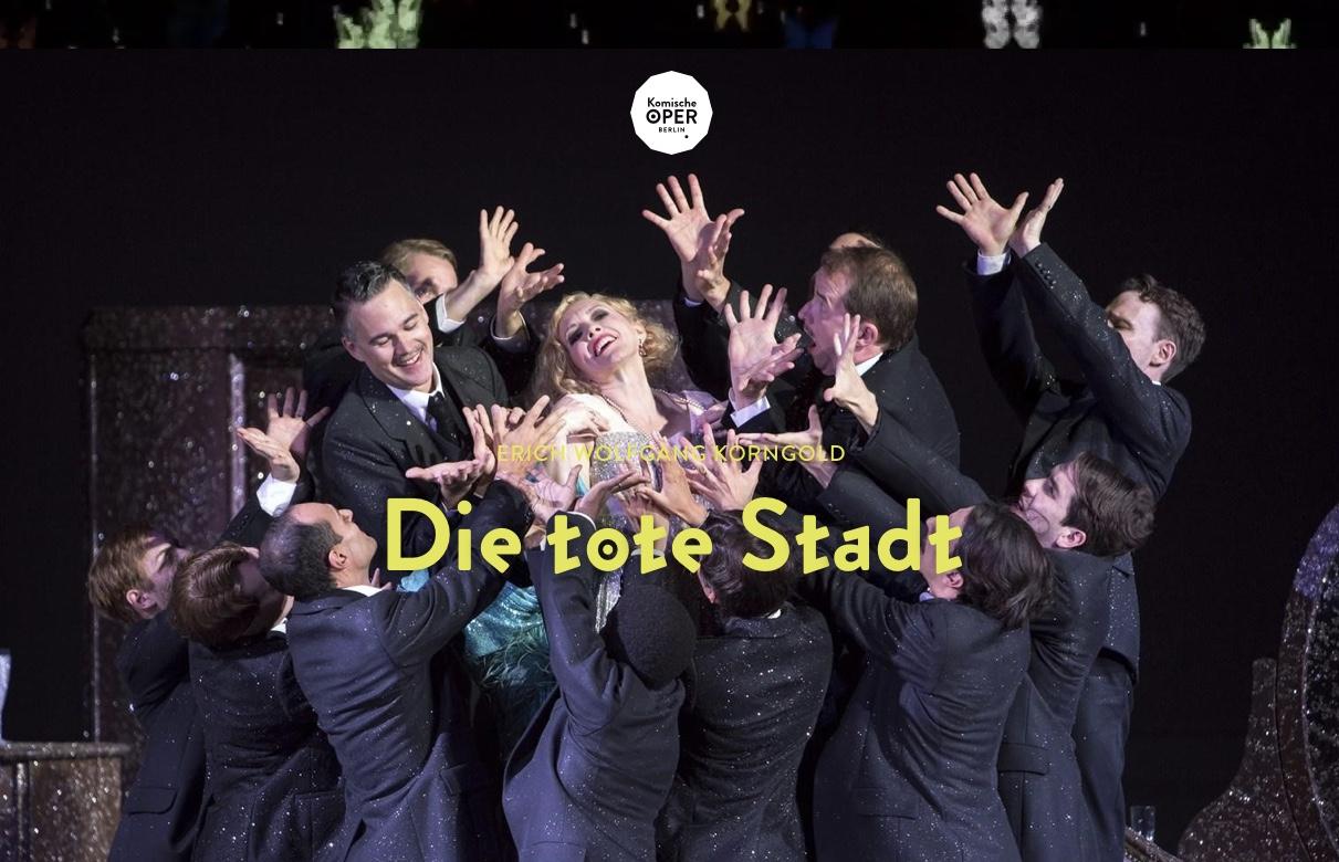 Bildergebnis für berlin komische oper die tote stadt